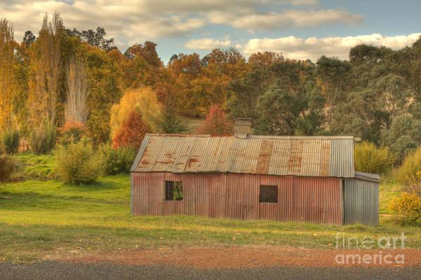 Photograph - The Old Barn by Elaine Teague