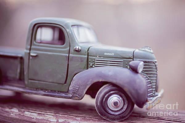 Wall Art - Photograph - The Old Farm Truck by Edward Fielding