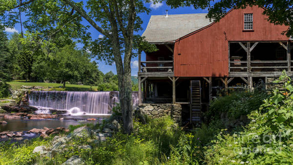Photograph - The Old Mill Museum. by New England Photography