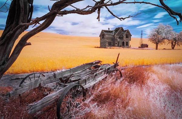 Photograph - The Old West House by Matt Shiffler