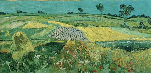 Painting - The Plain Of Auvers by Vincent van Gogh