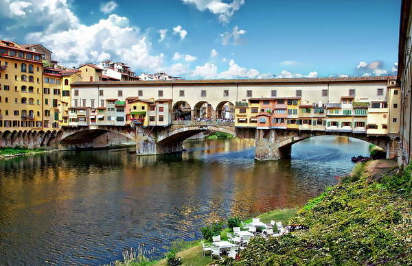 Photograph - The Ponte Vecchio by Anthony Dezenzio