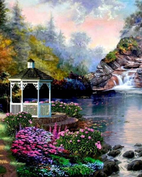 Wall Art - Photograph - The Prayer Garden 3 by Ron Chambers