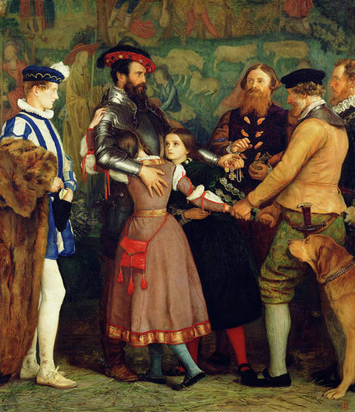 Redemption Painting - The Ransom by John Everett Millais