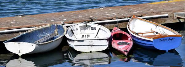 Wall Art - Photograph - The Red Kayak Morro Bay California by Barbara Snyder