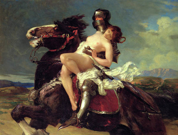 Daring Painting - The Rescue by Vereker Monteith Hamilton
