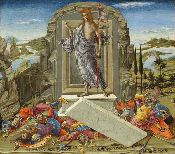 Painting - The Resurrection by Benvenuto Di Giovanni