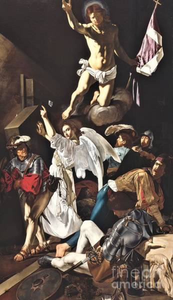 Wall Art - Painting - The Resurrection by Pg Reproductions
