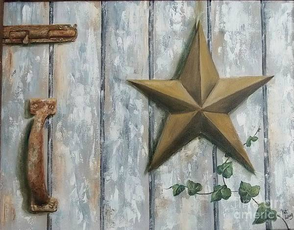 Wall Art - Painting - The Rusty Latch by Patricia Lang