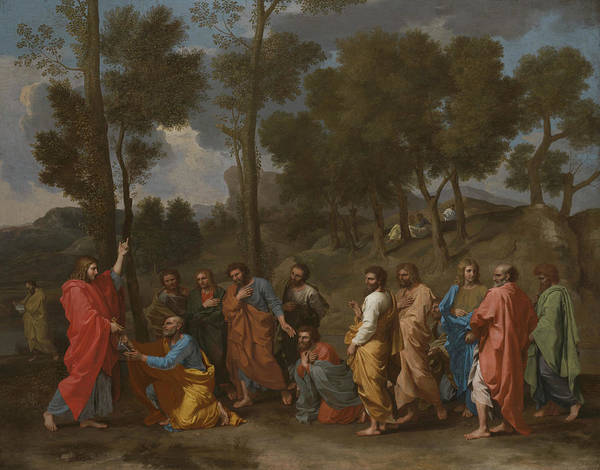 Sacrament Wall Art - Painting - The Sacrament Of Ordination  by Nicolas Poussin