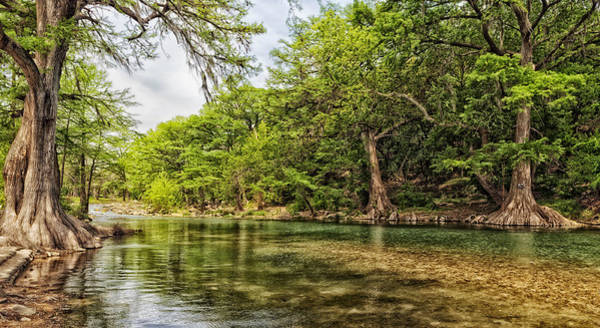 Wall Art - Photograph - The Scenic Guadalupe River by Mountain Dreams