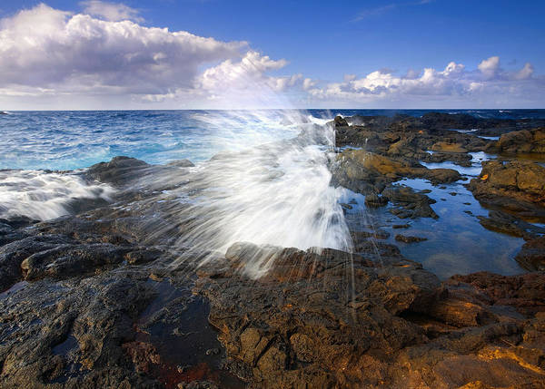 Wall Art - Photograph - The Sea Erupts by Mike  Dawson