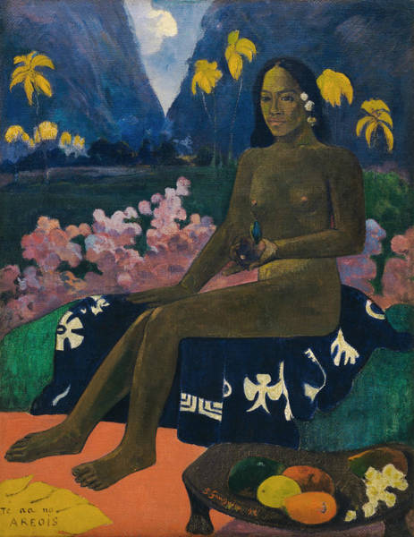 Painting - The Seed Of The Areoi by Paul Gauguin