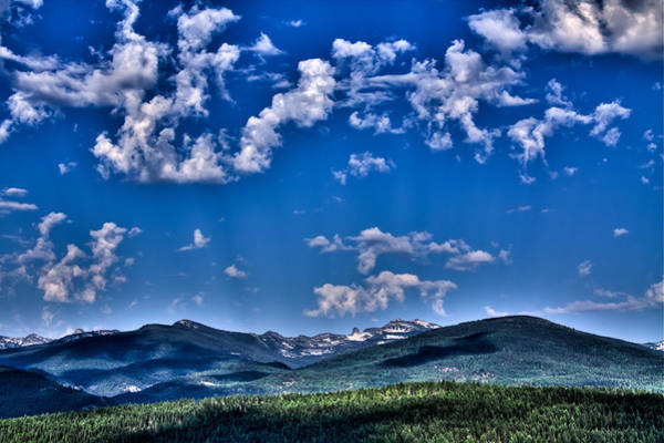 Photograph - The Selkirk Mountain Range - Priest Lake by David Patterson