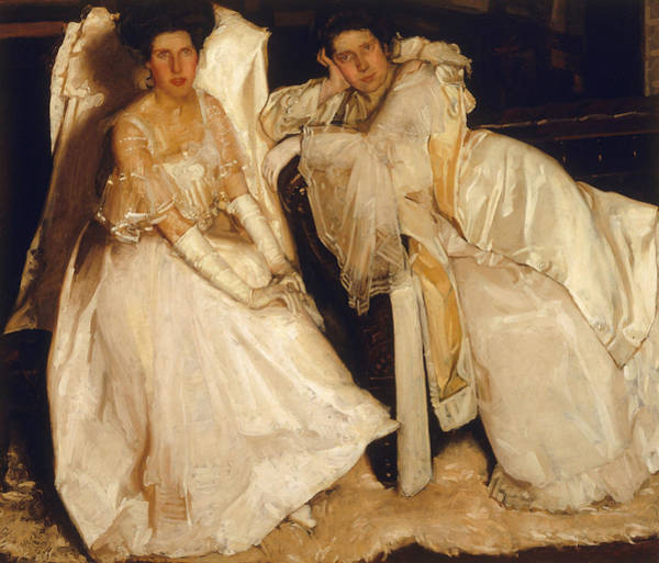 Painting - The Sisters by Hugh Ramsay