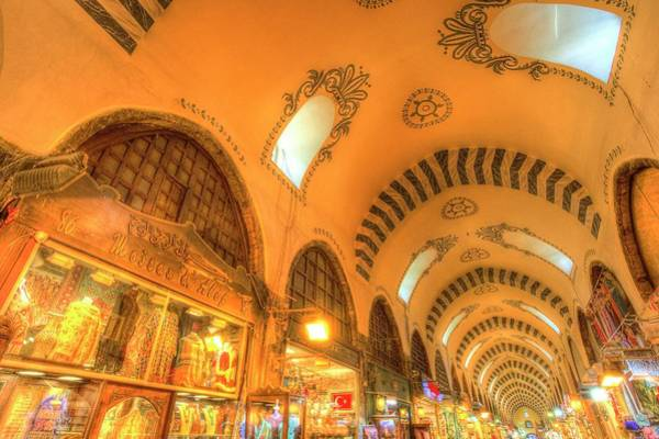 Wall Art - Photograph - The Spice Bazaar Istanbul by David Pyatt