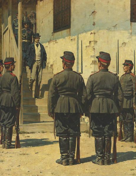 Painting - The Spy by Vasily Vereshchagin