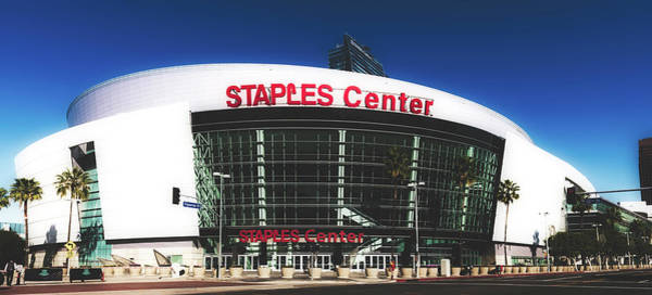 Wall Art - Photograph - The Staples Center - Los Angeles by Library Of Congress