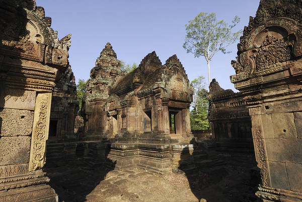 Wall Art - Photograph - The Temple Of Banteay Srei by Liz Pinchen