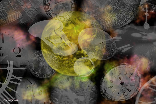 Painting - The Time Is Out Of Joint by RC DeWinter