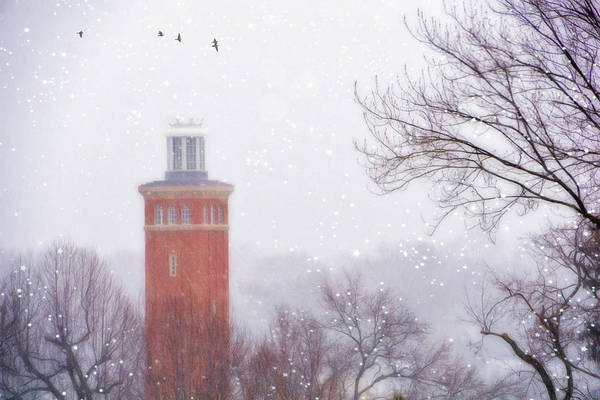 Wall Art - Photograph - The Tower In Winter by June Marie Sobrito