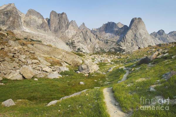 Wall Art - Photograph - The Trail Overlooking The Cirque by Alan Majchrowicz
