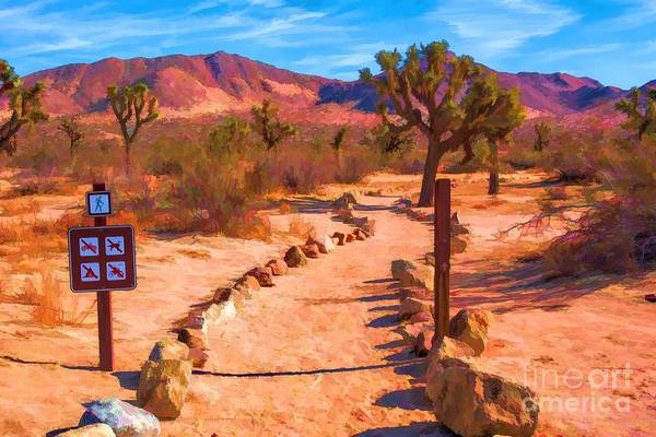 Digital Art - The Trailhead by Joe Lach