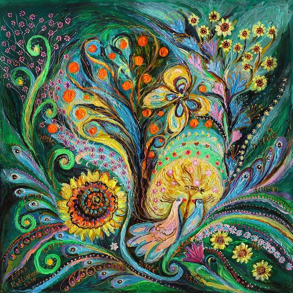 Wall Art - Painting - The Tree Of Desires by Elena Kotliarker