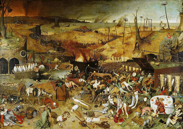 Renaissance Painters Wall Art - Painting - The Triumph Of Death by Pieter Bruegel the Elder