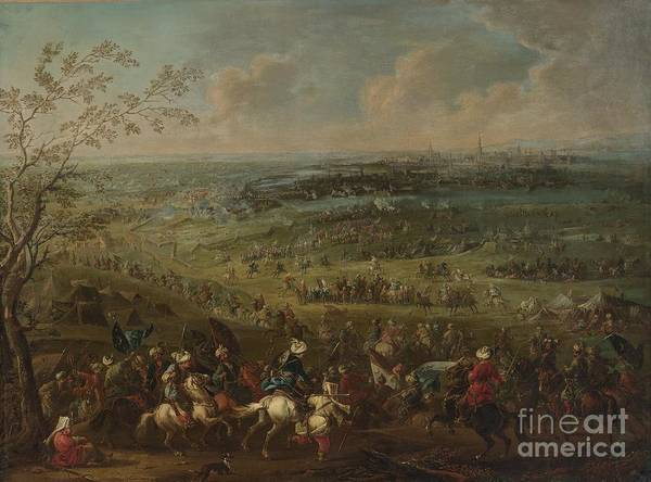 Painting - The Turkish Siege Of Vienna by Celestial Images
