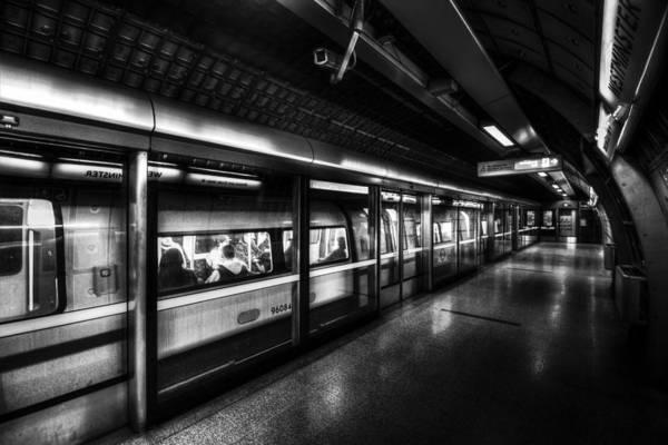 Wall Art - Photograph - The Underground System by David Pyatt