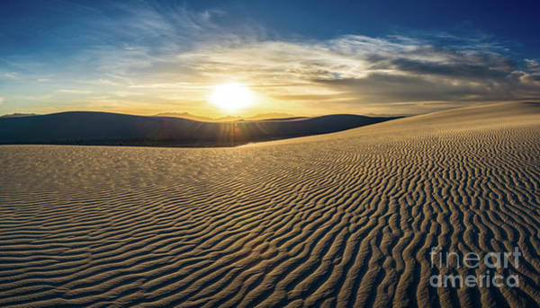 Wall Art - Photograph - The Unique And Beautiful White Sands National Monument In New Me by Jamie Pham