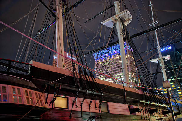 Photograph - The Uss Constellation by Mark Dodd