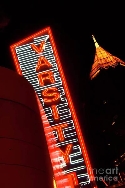 Rockdale County Photograph - The Varsity Atlanta by Corky Willis Atlanta Photography