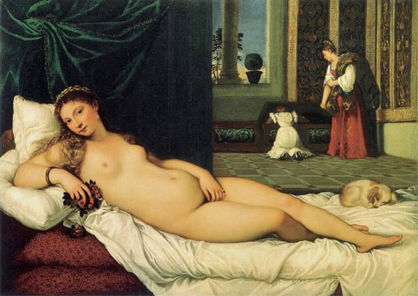 Photograph - The Venus Of Urbino by Titian