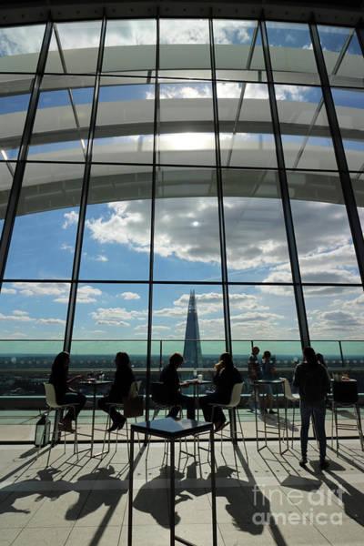 Photograph - The Walkie Talkie Building In London Uk by Julia Gavin