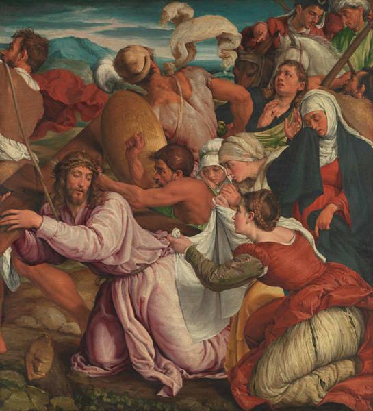 Wall Art - Painting - The Way To Calvary by Jacopo Bassano