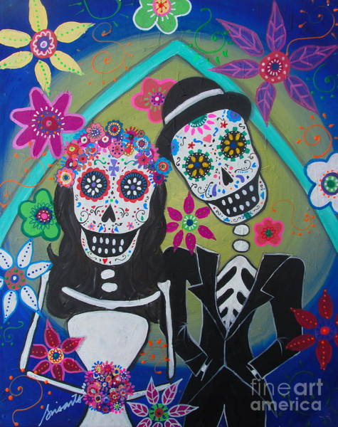 Painting - The Wedding by Pristine Cartera Turkus