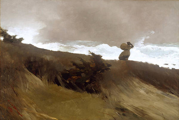 Painting - The West Wind by Winslow Homer