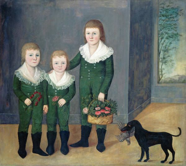 Painting - The Westwood Children by Joshua Johnson