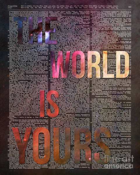 Brain Painting - The World Is Yours by Anna W