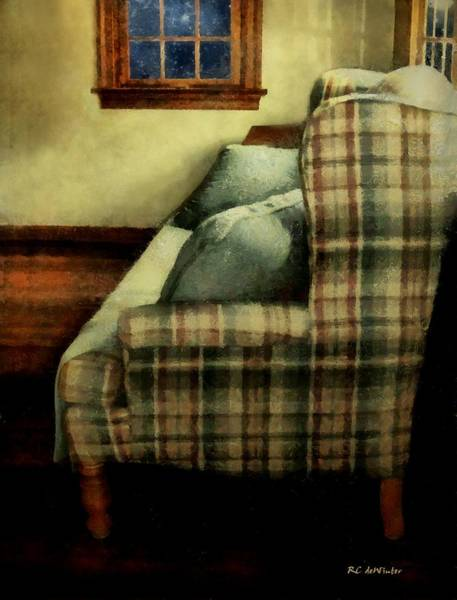 Painting - The Yellow Room by RC DeWinter