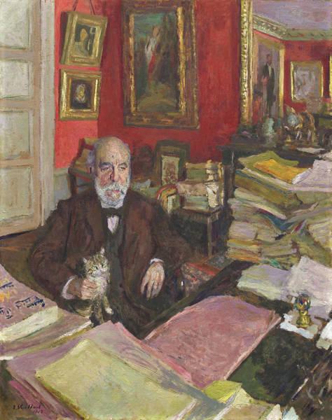 Painting - Theodore Duret by Edouard Vuillard