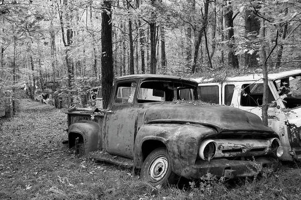 Clunker Wall Art - Photograph - This Old Truck by Linda D Lester