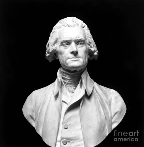 Wall Art - Photograph - Thomas Jefferson (1743-1826) by Granger