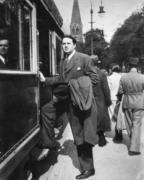 Clayton Photograph - Thomas Wolfe (1900-1938) by Granger