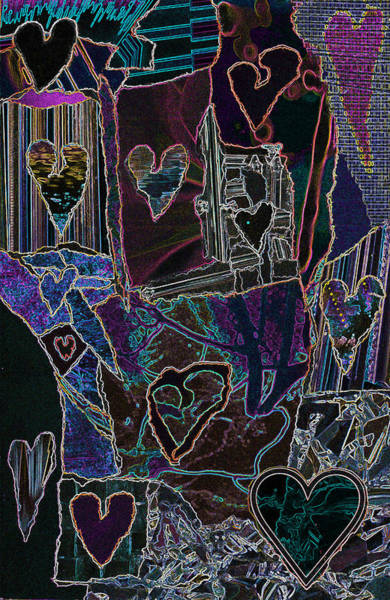 Thought Of Love Art Print
