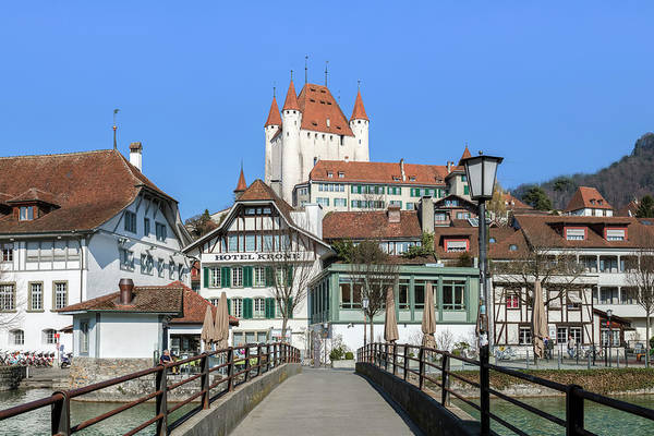 Wall Art - Photograph - Thun - Switzerland by Joana Kruse