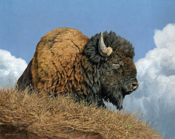 Painting - Thunder Beast by Peter Eades