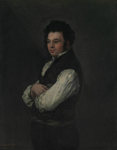 Painting - Tiburcio Perez Y Cuervo, The Architect by Francisco Goya